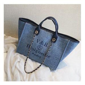 Oversize Brand new large blue bag